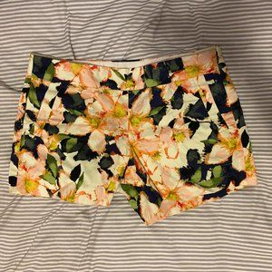 JCrew NWT 5 in floral Chino Shorts